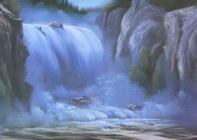 Spectacular Waterfall