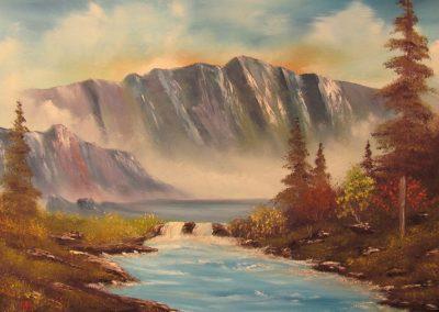 Bubbling Mountain Brook
