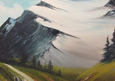 Towering Glacier