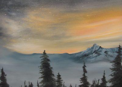 Starlight on Mt. Baker