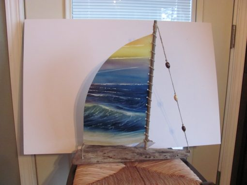 Boat - Name of Painting - Back