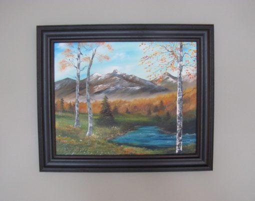 Autumn Creek - Framed